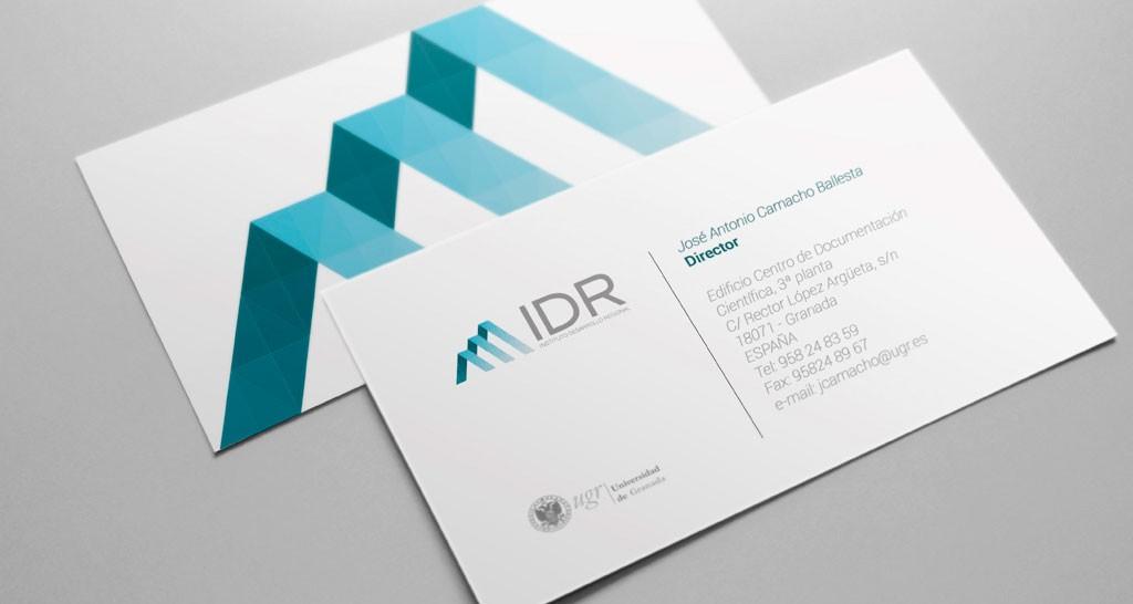 logotipo 40 aniversario IDR