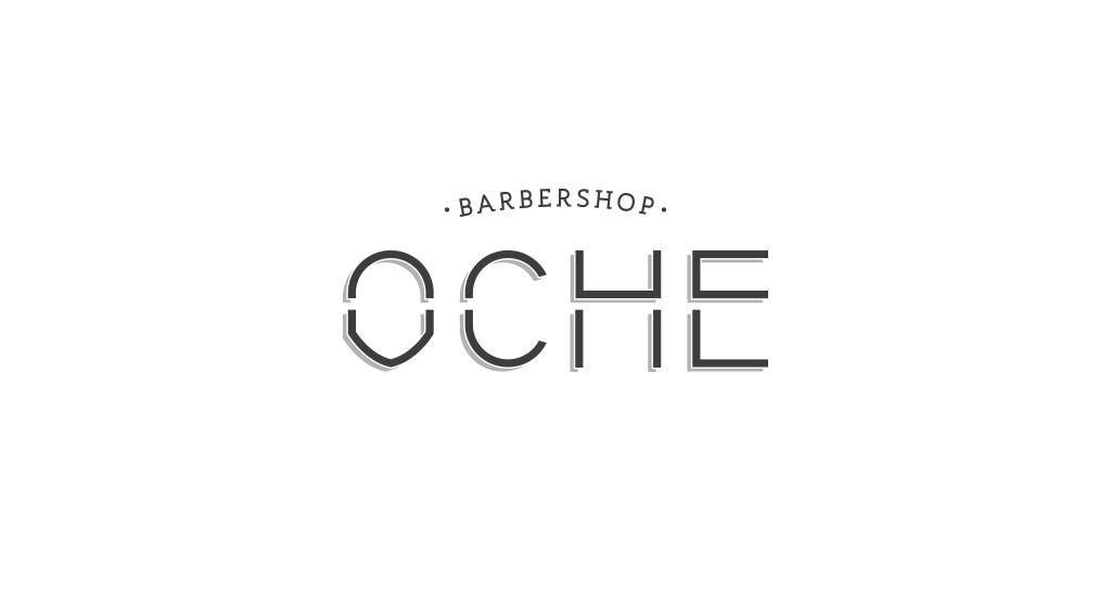 Oche barbershop Identidad