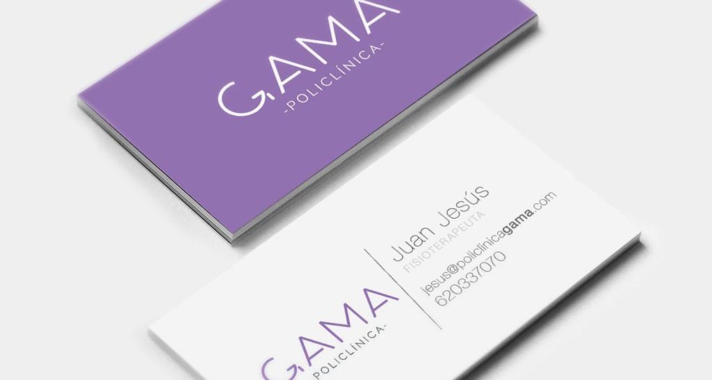 tarjetas policlinica GAMA