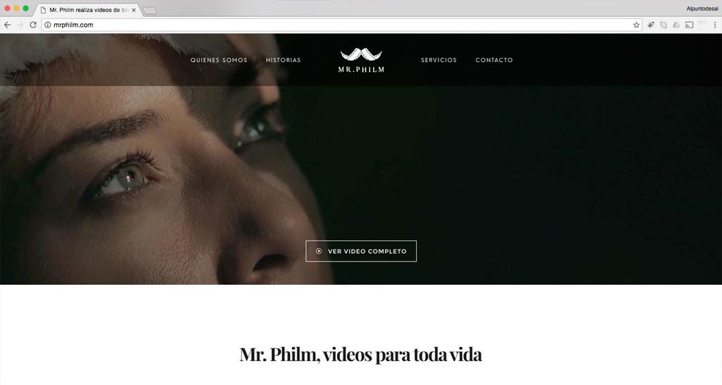 identidad corporativa mr philm